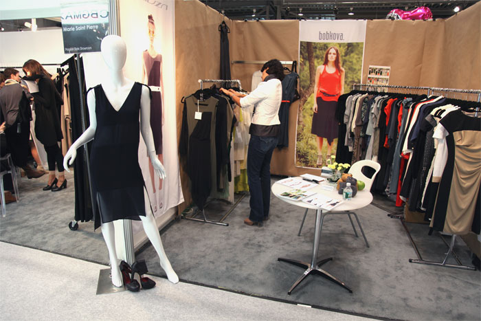 Russian and Ukrainian Labels at Coterie Trade Show in NYC