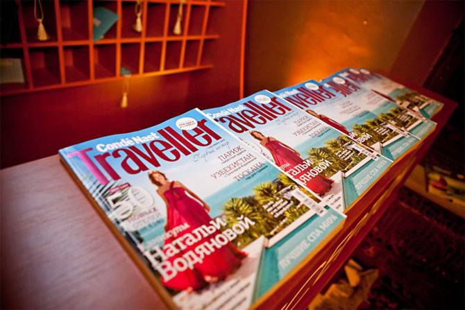 Condé Nast Traveller Comes to Russia