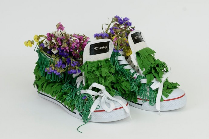 One of a Kind Sneakers by Ukrainian Designers