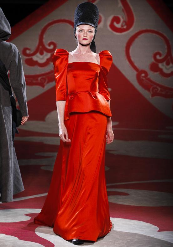 Ulyana Sergeenko Couture Fall Winter 2012