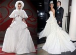 Lady Gaga in Ulyana Sergeenko Couture