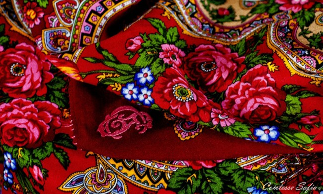 Traditional Russian Scarves