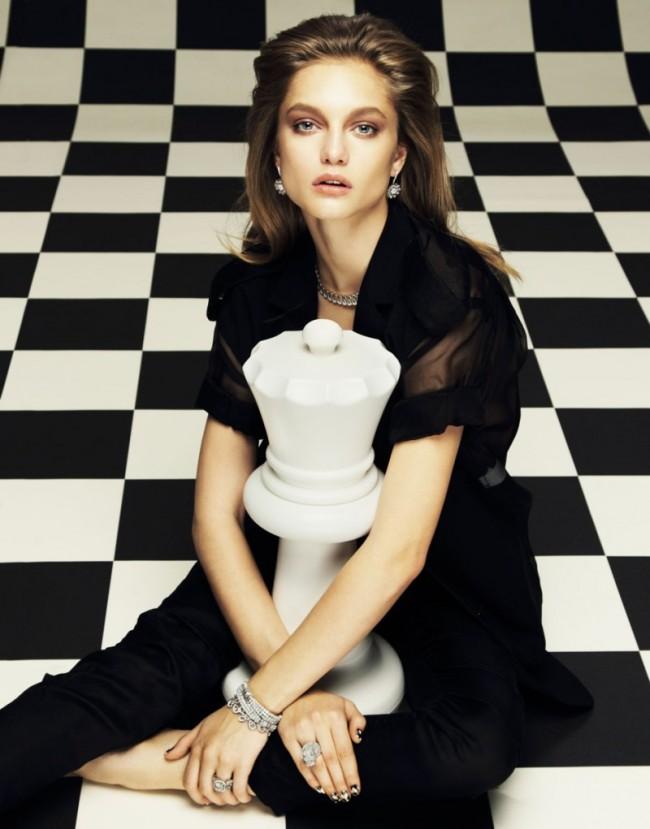 Svetlana Zakharova for Elle Russia April 2013
