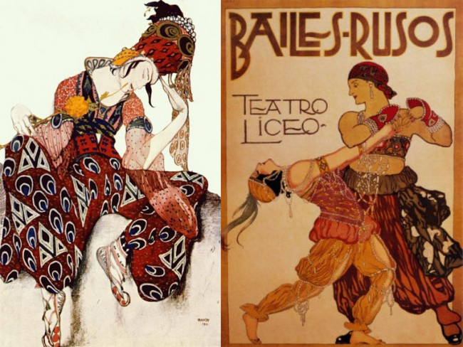 Outfit Inspiration: Ballets Russes