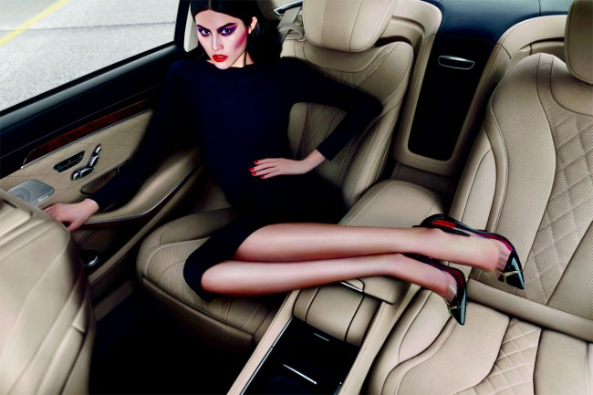Carine Roitfeld for Mercedes Benz